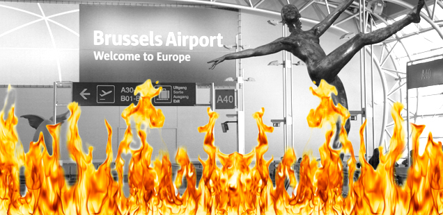 It's ISIS again. This time it's Brussels Airport.